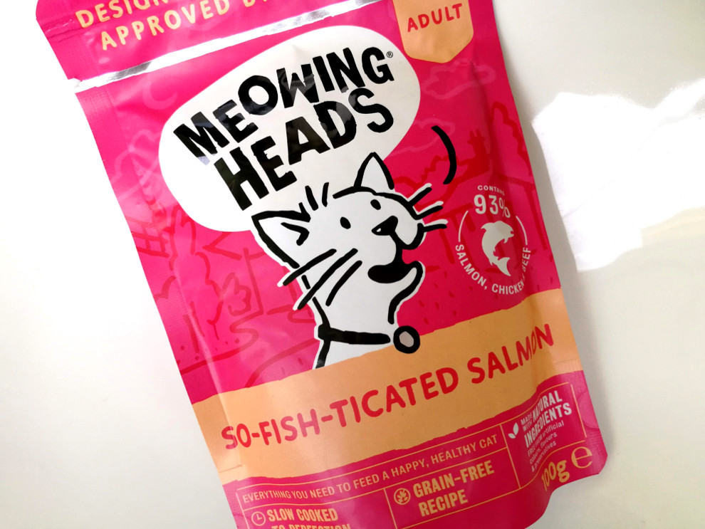Meowing Heads So-fish-ticated Salmon