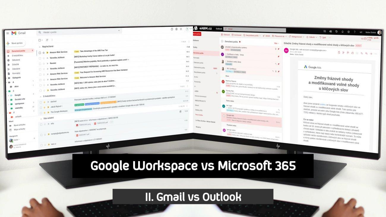 II. Google Gmail vs Microsoft Outlook