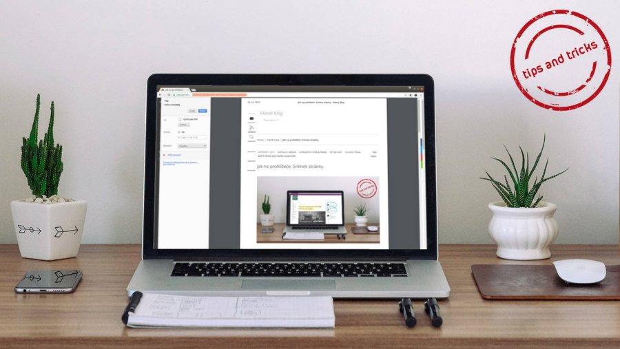 Jak na prohlížeče: Tisk do PDF