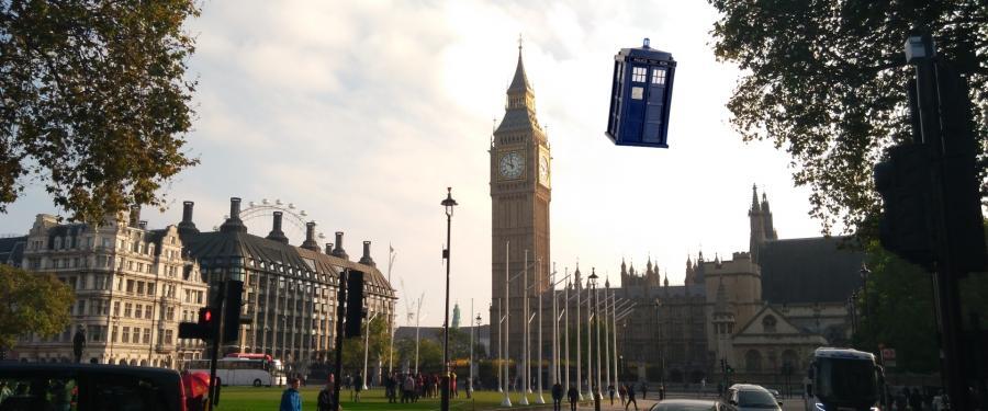 Londýn: Po stopách Doktora Who