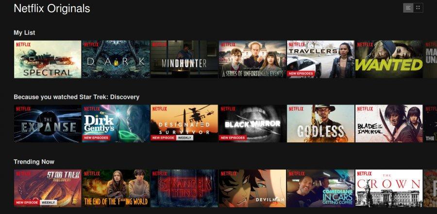 Nejlepší filmy a seriály na Netflixu za rok 2017