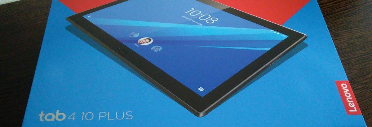 Unboxing: Lenovo Tab 4 Plus