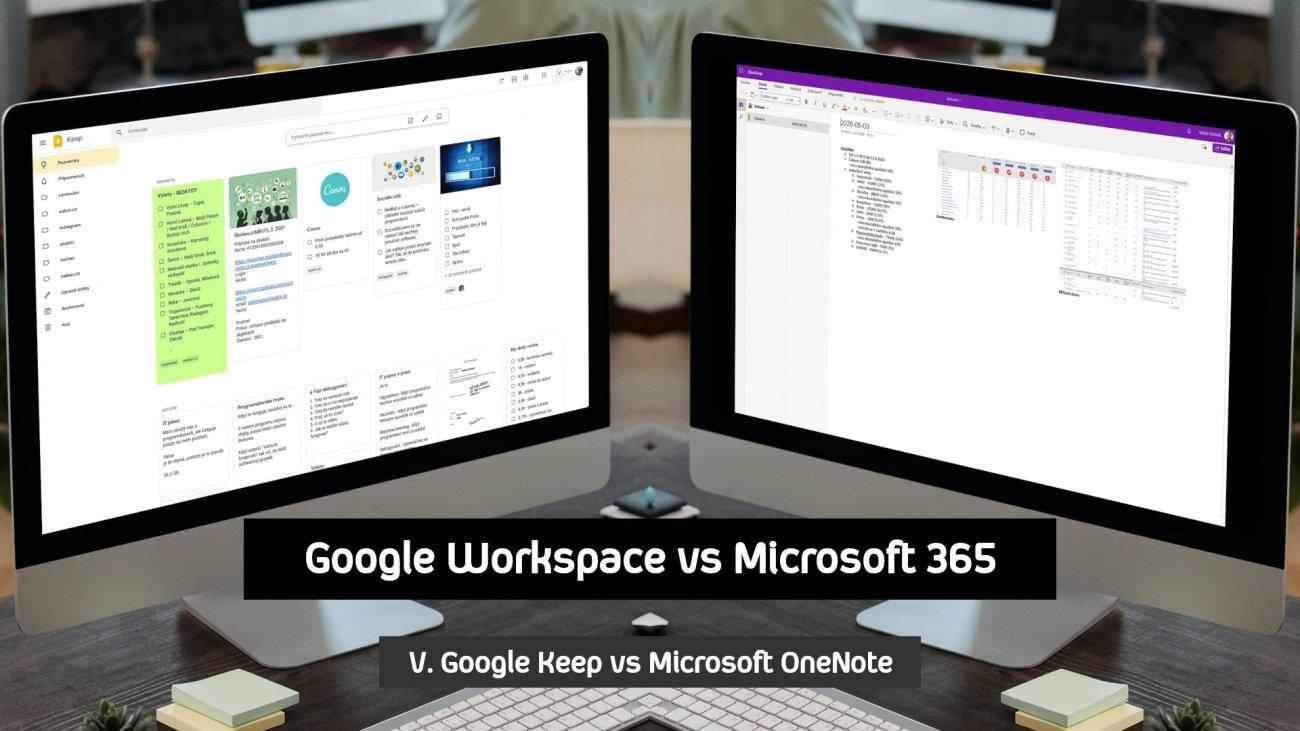 Google Keep vs Microsoft OneNote