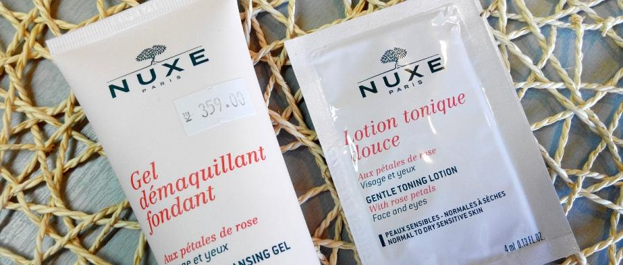 Recenze: Nuxe Melting Cleansing Gel